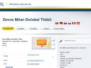 WEBOVÁ STRÁNKA Dovos Milan Dočekal Třebíč