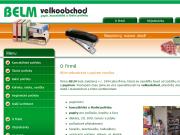 WEBOVÁ STRÁNKA Lubomír Beneš - Belm velkoobchod - prodejna