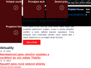 WEBOVÁ STRÁNKA Elektro - ing.Klíma s.r.o.