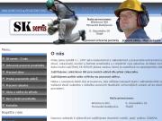 Strona (witryna) internetowa Ochranne pracovni pomucky Stanislav Kopecek
