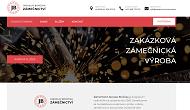 Strona (witryna) internetowa Zamecnictvi Jaroslav Boruvka