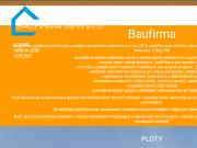 WEBOVÁ STRÁNKA BAUFIRMA MPR s.r.o.