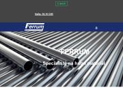 WEBOVÁ STRÁNKA FERRUM s.r.o.