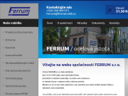 SITO WEB FERRUM s.r.o.