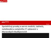 WEBOVÁ STRÁNKA PRIMA MB Ing. Jarom�r Bastl