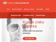 WEBOVÁ STRÁNKA Optika Kocandová Šárka Kocandová