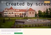 Strona (witryna) internetowa Hotel Zamek Valec