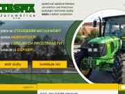 WEBOVÁ STRÁNKA Tesma stavitelství TESMA Jaroměřice s.r.o.