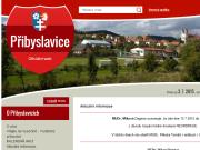 WEBOVÁ STRÁNKA OBEC PŘIBYSLAVICE Obecní úřad