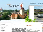 WEBOVÁ STRÁNKA Městys Dalešice Úřad městys