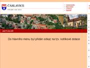 WEBOVÁ STRÁNKA OBEC ČÁSLAVICE Obecní úřad