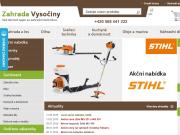 WEBOVÁ STRÁNKA Zahrada Vyso�iny Alena Svobodov�