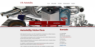 SITO WEB Vaclav Rous Autosluzby Rous