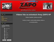 SITO WEB ZAPO HP, s.r.o.