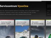 SITO WEB Serviscentrum Vysocina s.r.o.