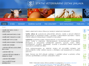 SITO WEB Statni veterinarni ustav Jihlava