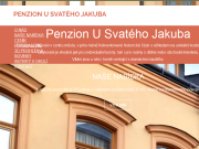 WEBSITE Penzion U svateho Jakuba LEGIAM Solution s.r.o.