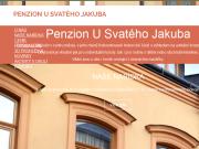 WEBOVÁ STRÁNKA Penzion U svatého Jakuba REVIONI Invest s.r.o.