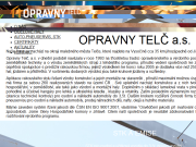 WEBSEITE Opravny Telc, a.s.