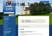 WEBOVÁ STRÁNKA OBEC VYSOKÉ STUDNICE Obecní úřad