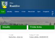 WEBOVÁ STRÁNKA OBEC RANTÍŘOV Obecní úřad