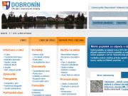WEBOVÁ STRÁNKA Obec Dobronín Obecní úřad