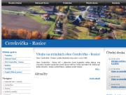 WEBOVÁ STRÁNKA Obec Cerekvička