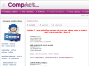 Strona (witryna) internetowa CompAct s.r.o.