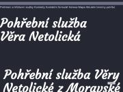SITO WEB Pohrebni sluzba - Vera Netolicka