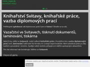 WEBOVÁ STRÁNKA Petr Chmelík - Knihařské práce