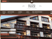 Strona (witryna) internetowa Hotel Pavla