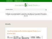 WEBOVÁ STRÁNKA Lesní družstvo Vysoké Chvojno.s.r.o
