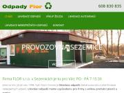 WEBOVÁ STRÁNKA FLOR s.r.o.