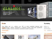 WEBOVÁ STRÁNKA Elklima, s.r.o. Klimatizace Pardubice