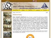PÁGINA WEB Ustav stavebniho zkusebnictvi s.r.o. Akred.zkuseb.laborator c.1115