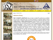 SITO WEB Ustav stavebniho zkusebnictvi s.r.o. Akred.zkuseb.laborator c.1115