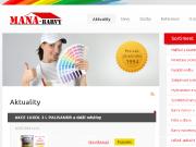 SITO WEB Mana- barvy s.r.o