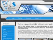 WEBOV� STR�NKA Vels v��c� elektronick� syst�my s.r.o.