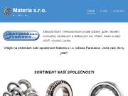 WEBOVÁ STRÁNKA MATERIA s.r.o.