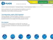 WEBOVÁ STRÁNKA VÚOS, a.s. výzkumný ústav organických syntéz