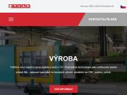 WEBOVÁ STRÁNKA TVAR výrobní družstvo Pardubice