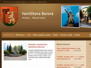 WEBOVÁ STRÁNKA Městys Havlíčkova Borová