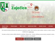 WEBOVÁ STRÁNKA Obecní úřad Zaječice