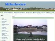 WEBOVÁ STRÁNKA Obecn� ��ad Mikulovice