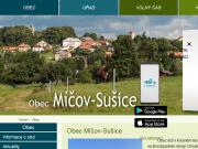 SITO WEB Obec Micov - Susice