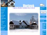WEBOVÁ STRÁNKA Obec Vortová