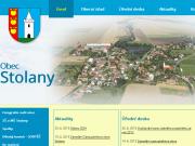 WEBOVÁ STRÁNKA Obecn� ��ad Stolany