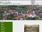 WEBOVÁ STRÁNKA Obecní úřad Prosetín