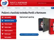 SITO WEB Pavlis a Hartmann, spol. s r.o.
