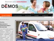 WEBOVÁ STRÁNKA DÉMOS, spol. s r.o. Správa a údržba nemovitostí